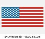 united states flag   Shutterstock .eps vector #460255105