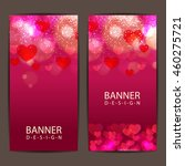 colorful banner card and... | Shutterstock .eps vector #460275721