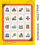 icon set toy vector | Shutterstock .eps vector #460275949