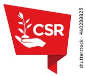 csr   corporate social... | Shutterstock .eps vector #460288825