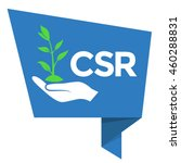csr   corporate social... | Shutterstock .eps vector #460288831