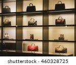 handbags in a luxury fashion... | Shutterstock . vector #460328725