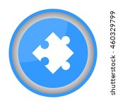 web icon. puzzle | Shutterstock .eps vector #460329799