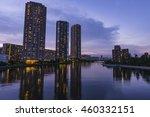 tokyo waterfront night view... | Shutterstock . vector #460332151