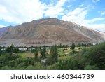 oasis ladakh | Shutterstock . vector #460344739