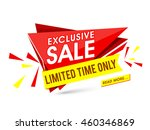 exclusive sale for limited time ... | Shutterstock .eps vector #460346869