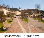 spa area in the centre of... | Shutterstock . vector #460347295