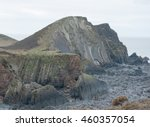 Upright Cliff At Hartland Point ...