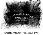 halftone dots vector texture... | Shutterstock .eps vector #460361191
