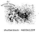 halftone dots vector texture... | Shutterstock .eps vector #460361209