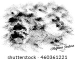 halftone dots vector texture... | Shutterstock .eps vector #460361221