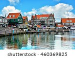 volendam   charming dutch... | Shutterstock . vector #460369825