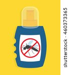 mosquito free spray. insects... | Shutterstock .eps vector #460373365