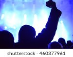 people at concert