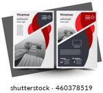 flyer brochure design  business ... | Shutterstock .eps vector #460378519