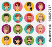 Faces Of Cartoon Business...