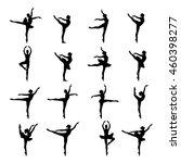ballet dancer ballerina | Shutterstock .eps vector #460398277