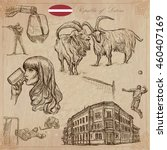 latvia. republic of latvia....   Shutterstock .eps vector #460407169