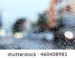 water drop on glass | Shutterstock . vector #460408981