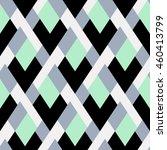 vector geometric seamless... | Shutterstock .eps vector #460413799