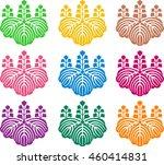 japanese family crests | Shutterstock . vector #460414831