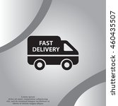 fast delivery icon . vector... | Shutterstock .eps vector #460435507