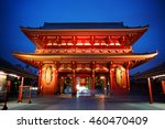 the kaminarimon gate of the... | Shutterstock . vector #460470409