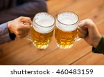 people  leisure and drinks... | Shutterstock . vector #460483159