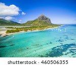 mauritius beach island aerial... | Shutterstock . vector #460506355