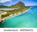 mauritius beach island aerial... | Shutterstock . vector #460506421
