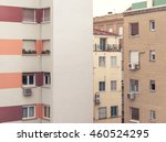 modern city living block... | Shutterstock . vector #460524295