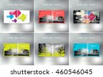 vector collection of flyer... | Shutterstock .eps vector #460546045
