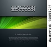vector flyer or banner design... | Shutterstock .eps vector #460555249