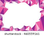 multi pink purple frame... | Shutterstock .eps vector #460559161