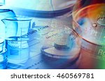 medical instruments.science... | Shutterstock . vector #460569781