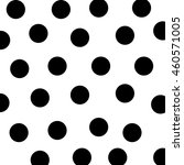 simple white dotted background... | Shutterstock . vector #460571005