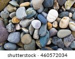 colorful pebble close up.... | Shutterstock . vector #460572034