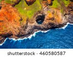 Aerial View Of Na Pali...