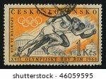 czechoslovakia   circa 1960  ... | Shutterstock . vector #46059595