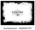 grunge frame texture | Shutterstock .eps vector #460604719