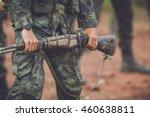 to combat training  combat... | Shutterstock . vector #460638811