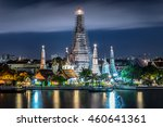 wonderful ancient temple wat... | Shutterstock . vector #460641361