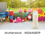 going to picnic in the morning... | Shutterstock . vector #460646809
