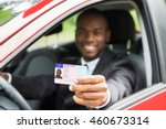 happy young african businessman ... | Shutterstock . vector #460673314