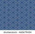 seamless islamic pattern of six ... | Shutterstock .eps vector #460679434