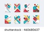 vector illustration. set of... | Shutterstock .eps vector #460680637