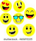 smiley face | Shutterstock .eps vector #460693105