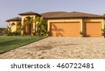 typical southwest florida...   Shutterstock . vector #460722481