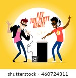 flat profession characters.... | Shutterstock . vector #460724311