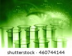 lab  chemistry  dna structure ... | Shutterstock . vector #460744144